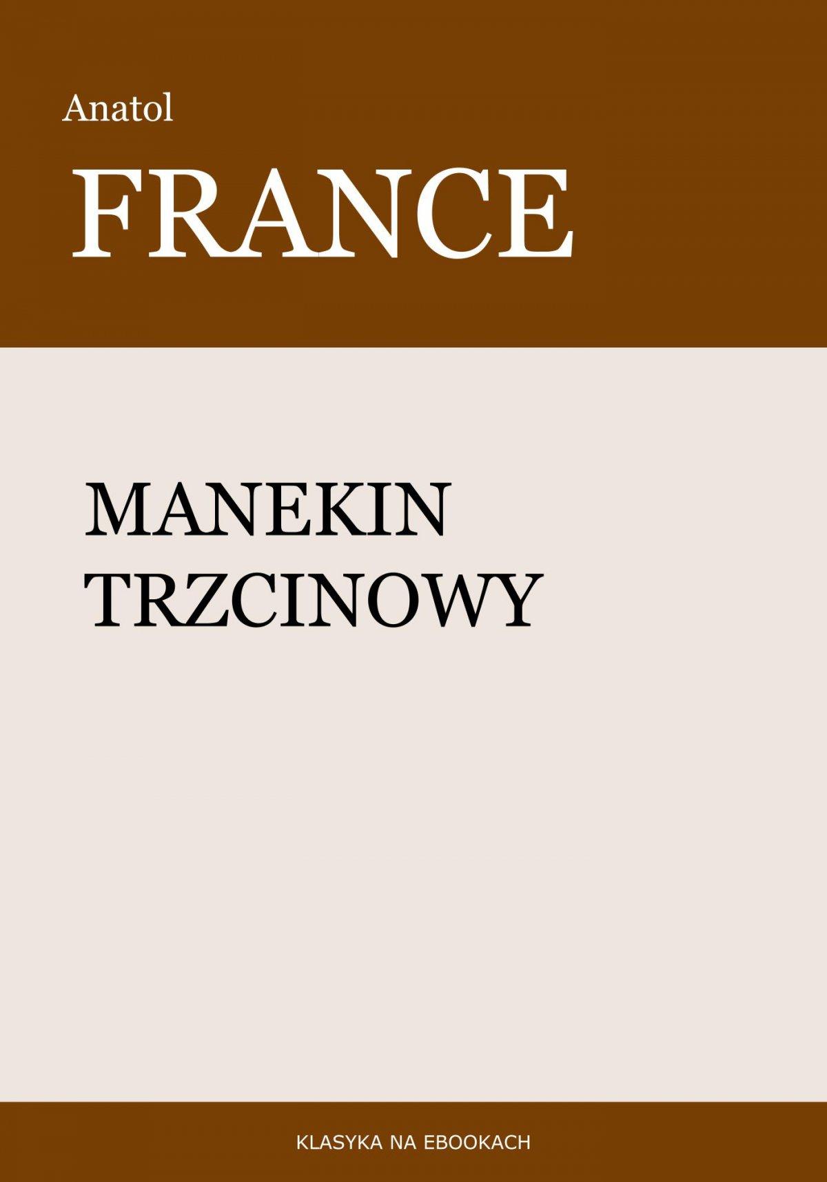 Manekin trzcinowy - Ebook (Książka EPUB) do pobrania w formacie EPUB