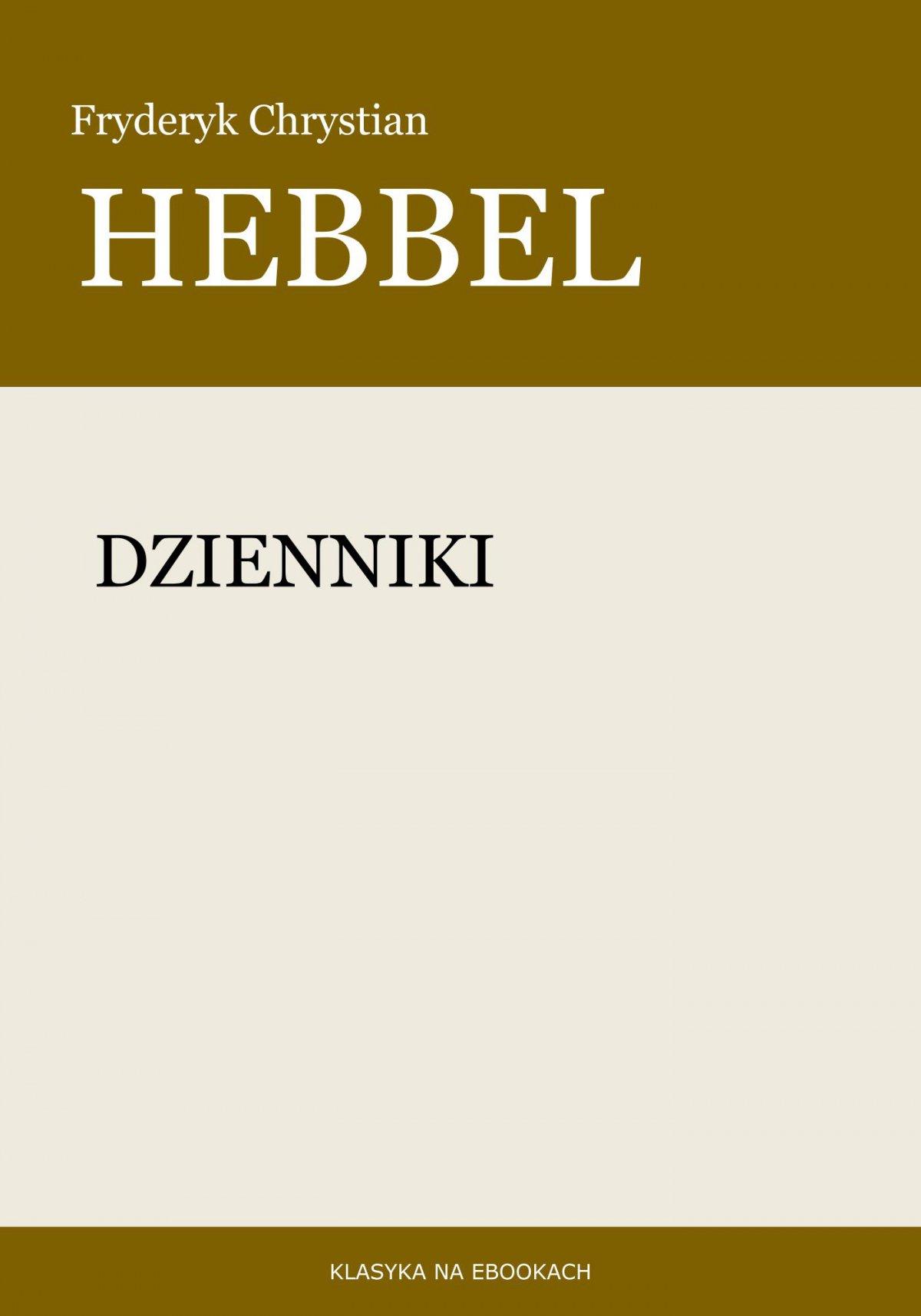Dzienniki - Ebook (Książka EPUB) do pobrania w formacie EPUB