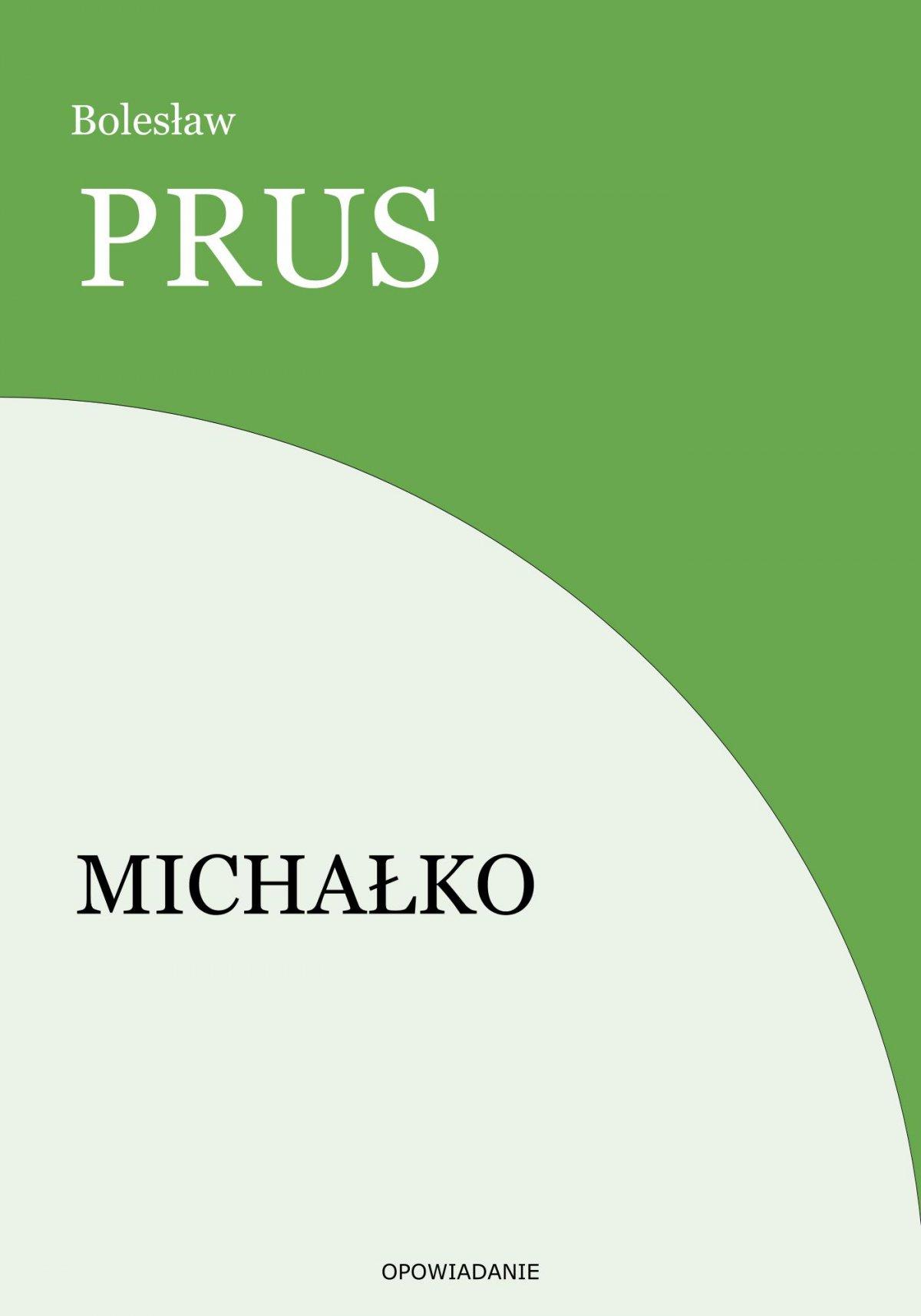 Michałko - Ebook (Książka EPUB) do pobrania w formacie EPUB