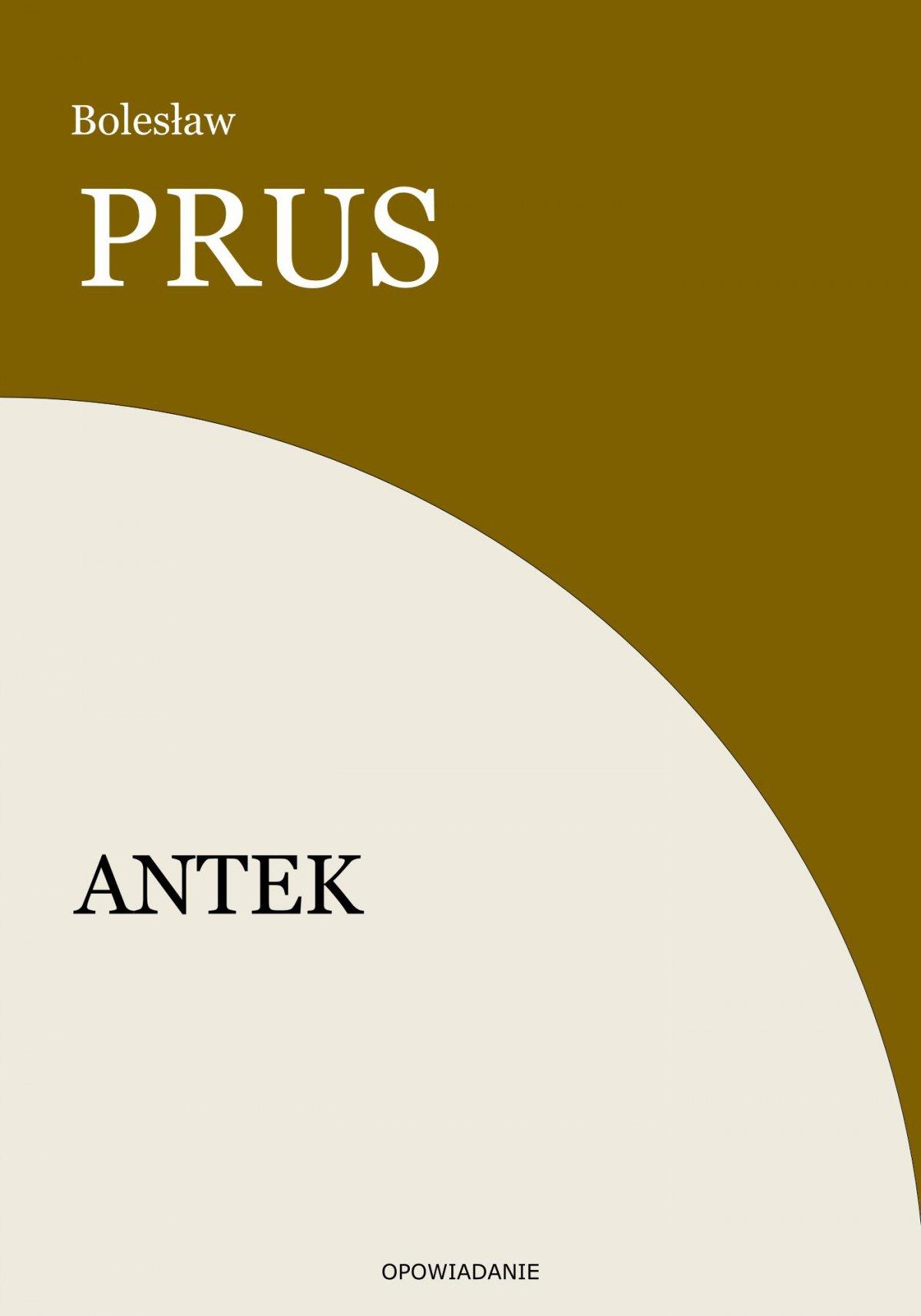 Antek - Ebook (Książka EPUB) do pobrania w formacie EPUB