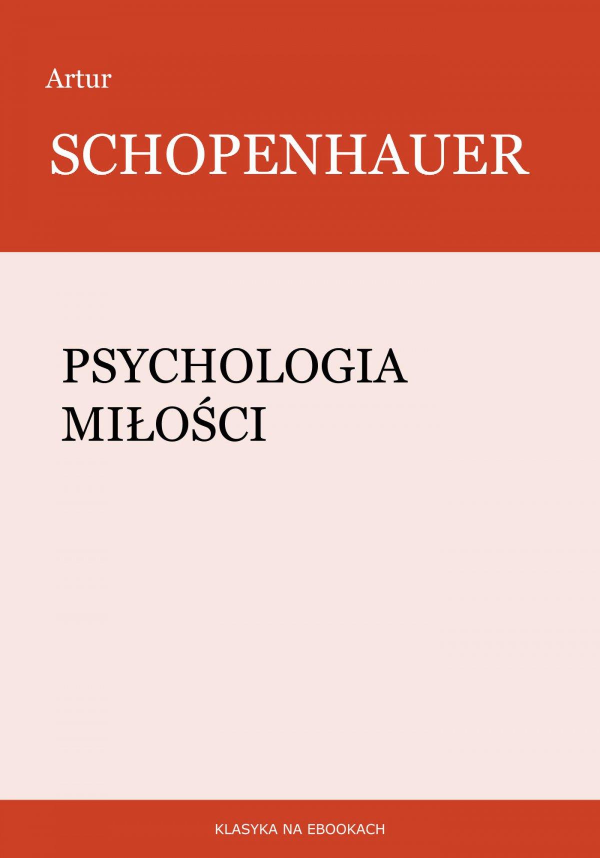 Psychologia miłości - Ebook (Książka EPUB) do pobrania w formacie EPUB