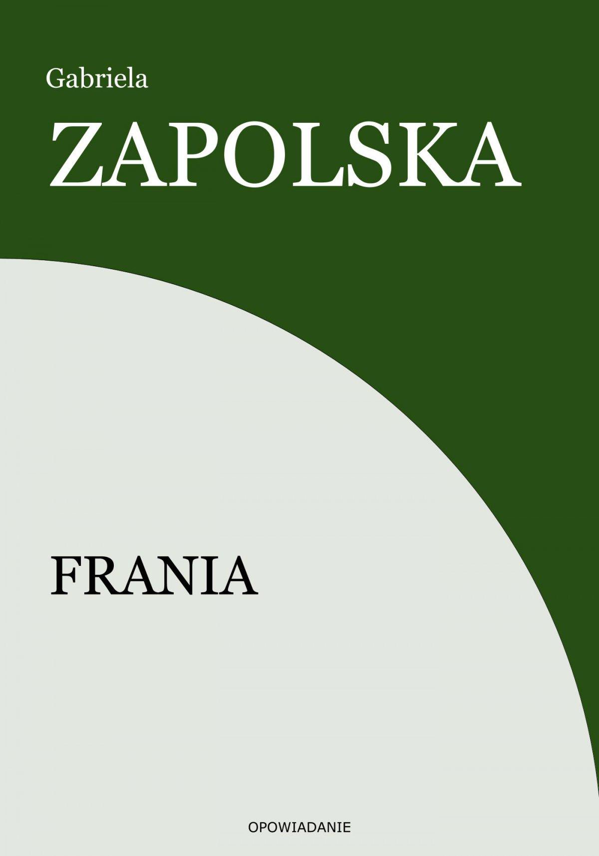 Frania - Ebook (Książka EPUB) do pobrania w formacie EPUB