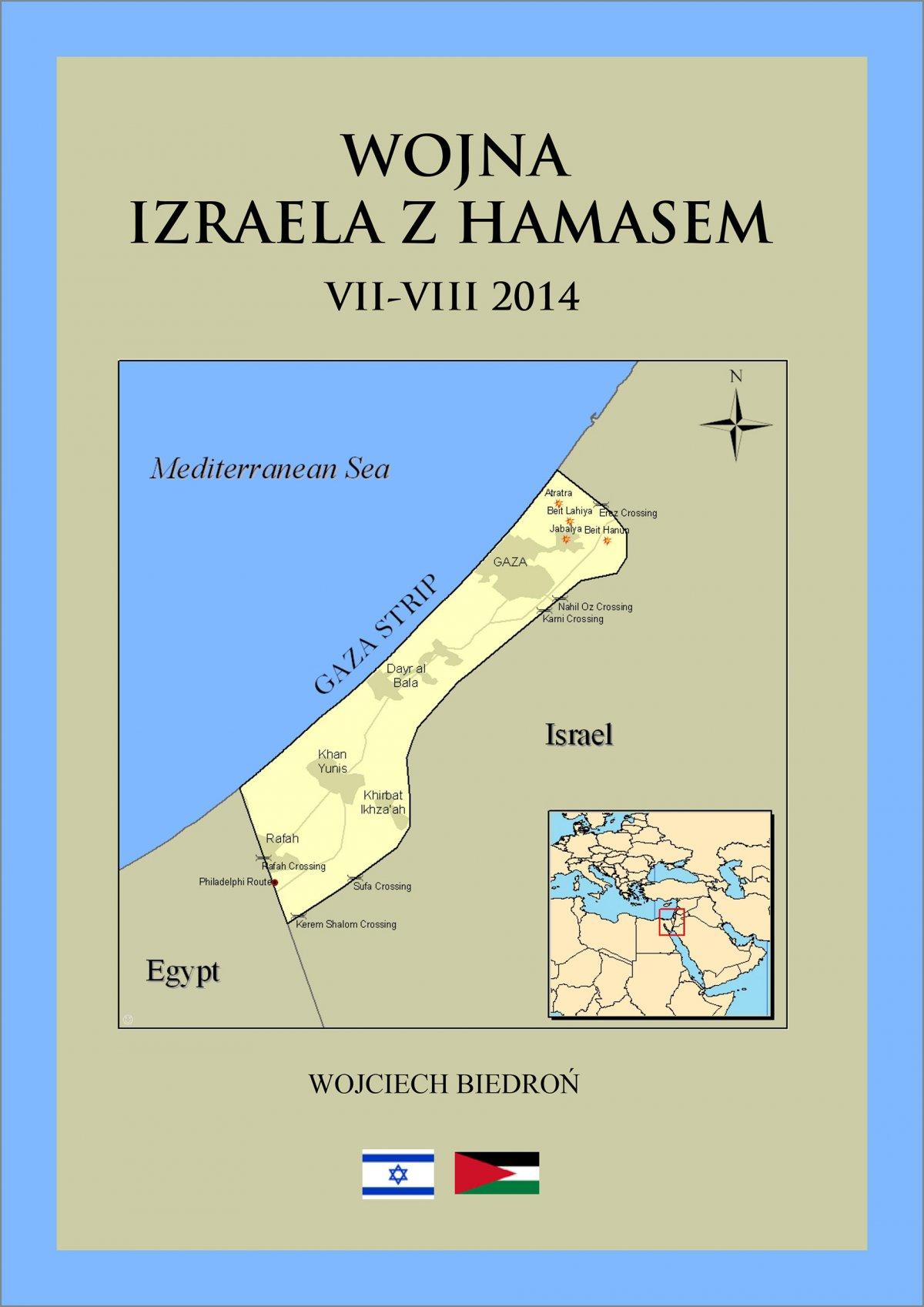 Wojna Izraela z Hamasem - Ebook (Książka PDF) do pobrania w formacie PDF