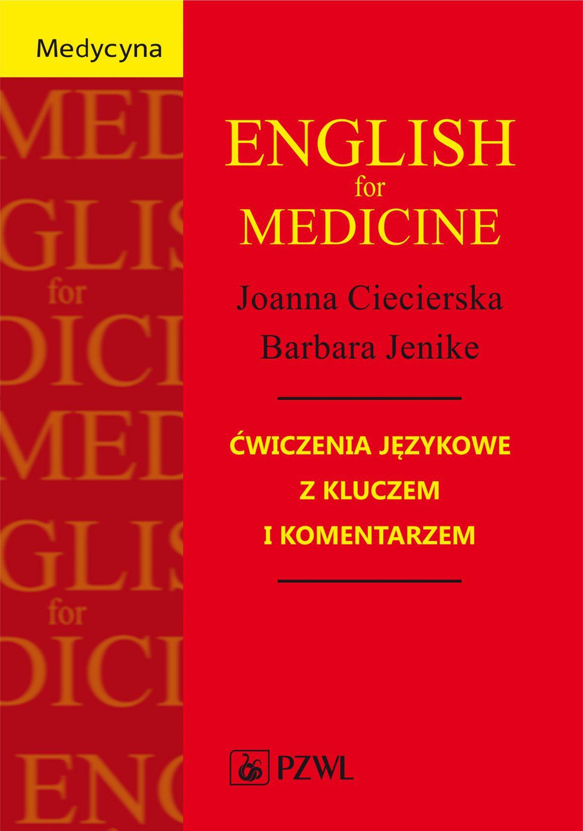 English for Medicine - Ebook (Książka na Kindle) do pobrania w formacie MOBI