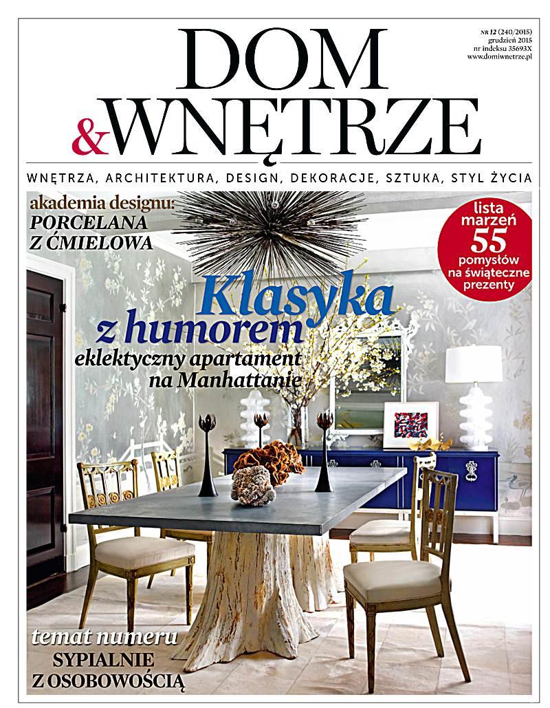 Dom i Wnętrze 12/2015 - Ebook (Książka PDF) do pobrania w formacie PDF