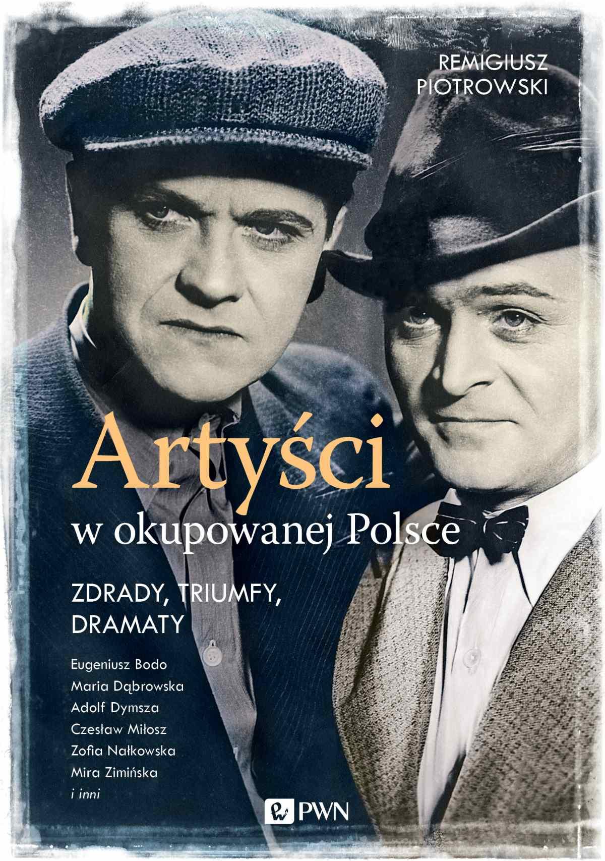 Artyści w okupowanej Polsce. Zdrady, triumfy, dramaty - Ebook (Książka na Kindle) do pobrania w formacie MOBI