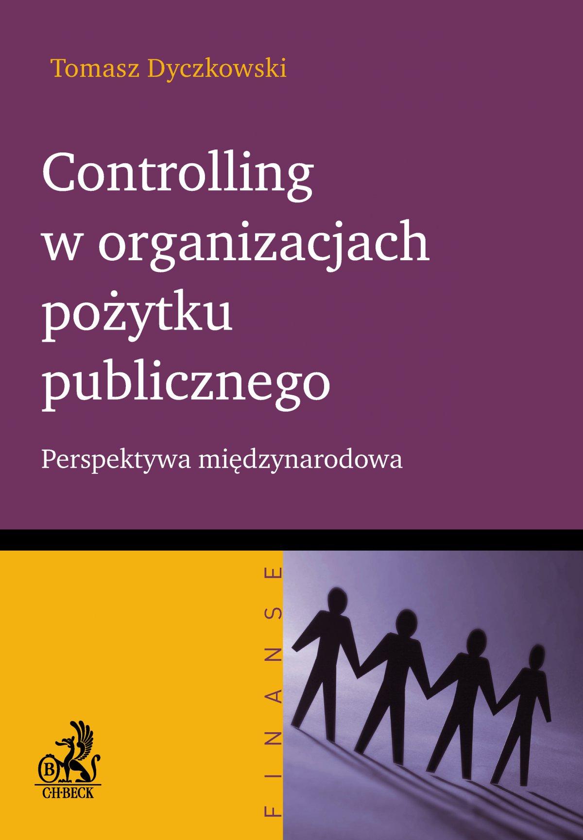 Controlling w organizacjach pożytku publicznego - Ebook (Książka PDF) do pobrania w formacie PDF