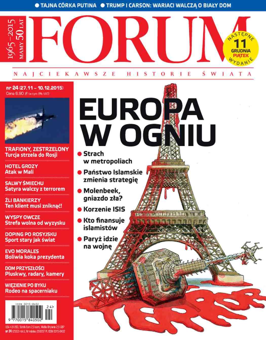 Forum nr 24/2015 - Ebook (Książka PDF) do pobrania w formacie PDF