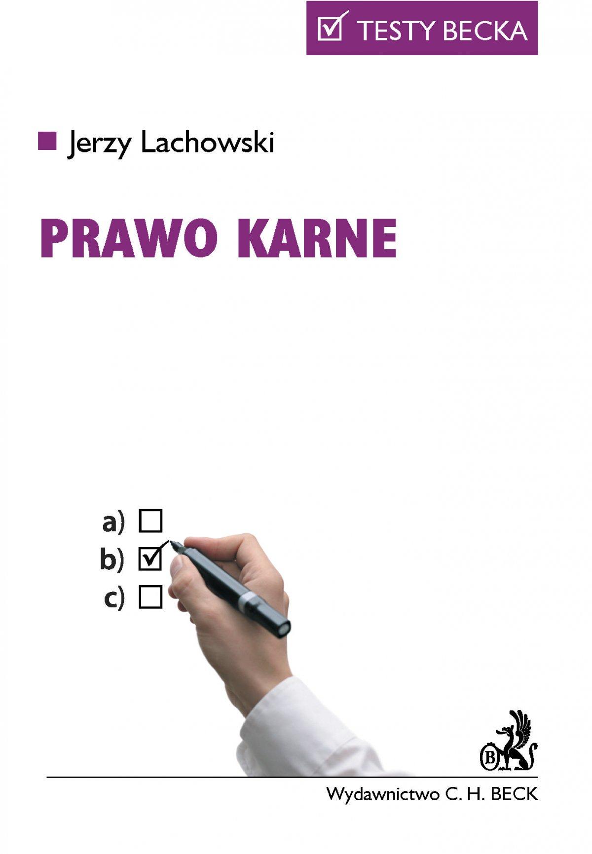 Prawo karne - Ebook (Książka PDF) do pobrania w formacie PDF