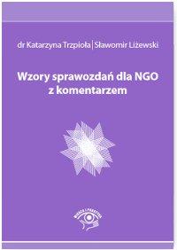 Wzory sprawozdań dla NGO z komentarzem - Ebook (Książka PDF) do pobrania w formacie PDF
