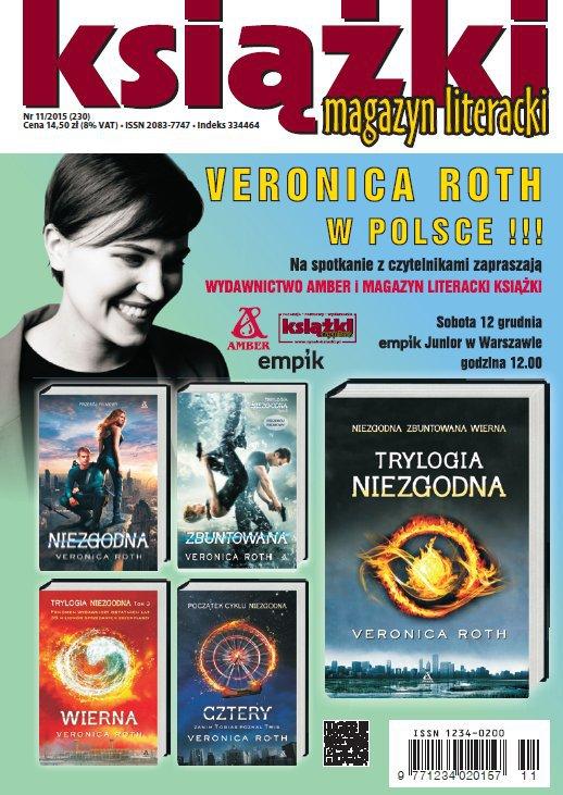 Magazyn Literacki KSIĄŻKI 11/2015 - Ebook (Książka PDF) do pobrania w formacie PDF