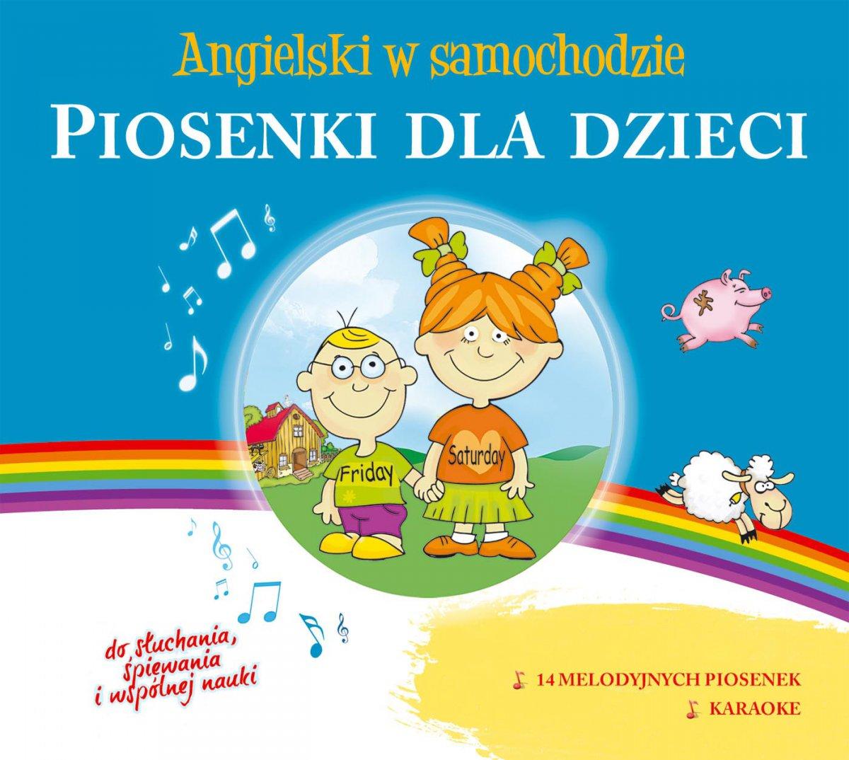 Angielski w samochodzie. Piosenki dla dzieci - Audiobook (Książka audio MP3) do pobrania w całości w archiwum ZIP