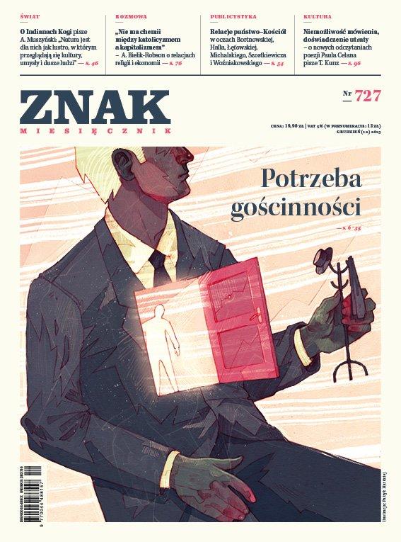 Miesięcznik Znak. Potrzeba gościnności. Nr 727 - Ebook (Książka EPUB) do pobrania w formacie EPUB