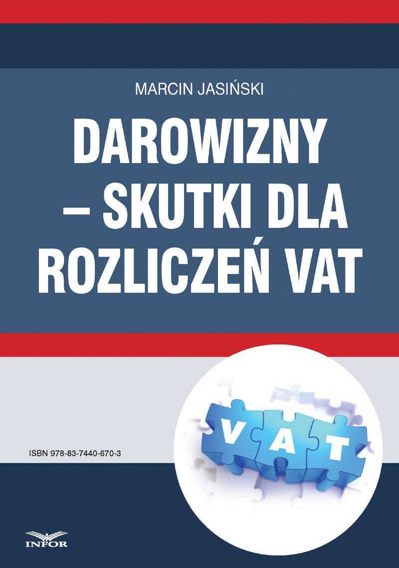 Darowizny – skutki dla rozliczeń VAT - Ebook (Książka PDF) do pobrania w formacie PDF