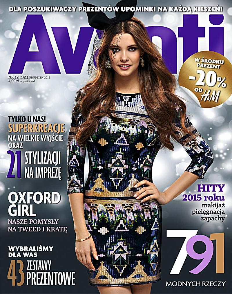 Avanti 12/2015 - Ebook (Książka PDF) do pobrania w formacie PDF