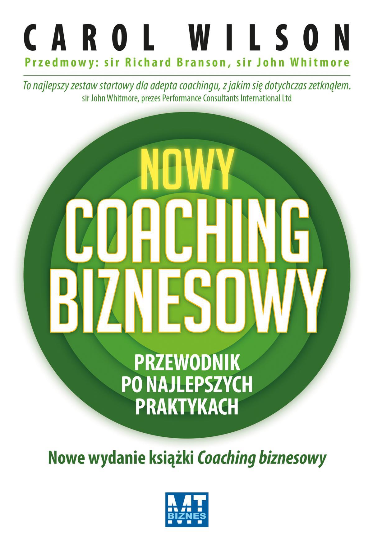 Nowy coaching biznesowy - Ebook (Książka EPUB) do pobrania w formacie EPUB