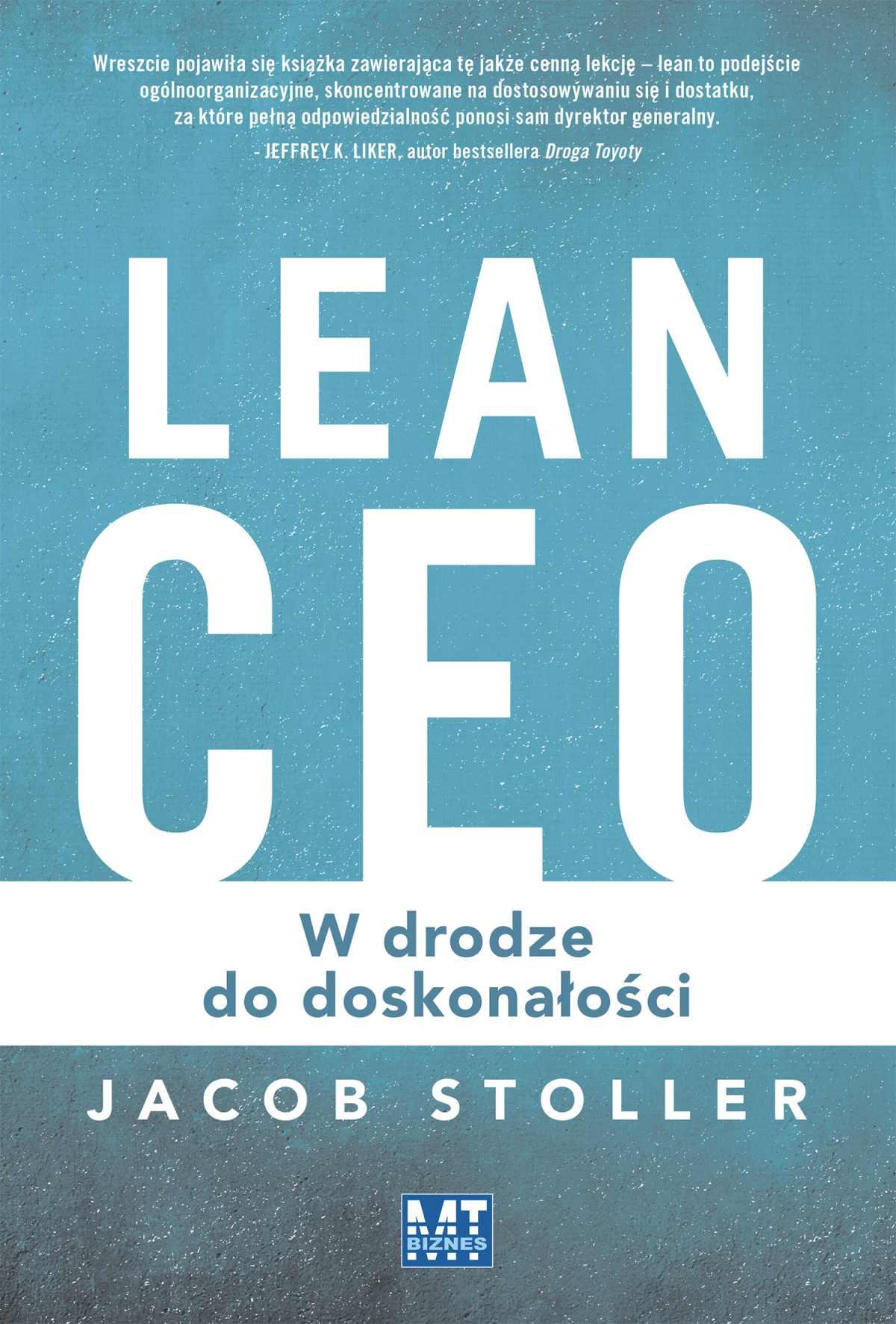 Lean CEO - Ebook (Książka EPUB) do pobrania w formacie EPUB