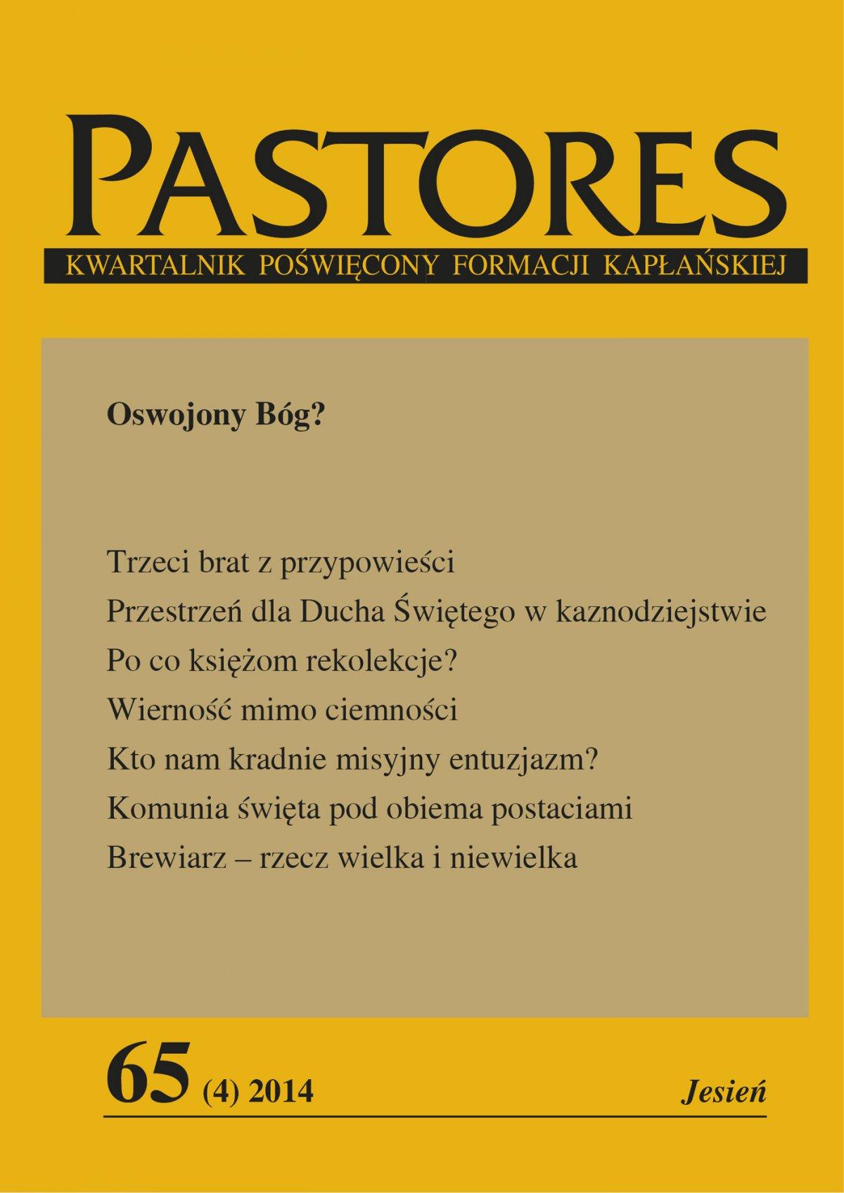 Pastores 65 (4) 2014 - Ebook (Książka EPUB) do pobrania w formacie EPUB