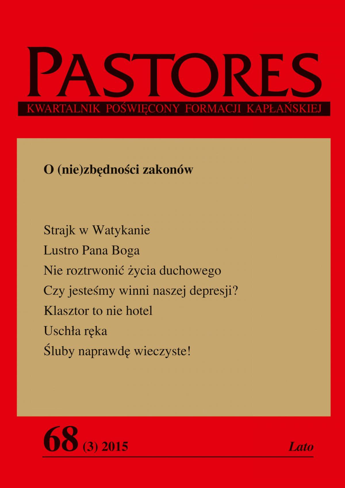 Pastores 68 (3) 2015 - Ebook (Książka EPUB) do pobrania w formacie EPUB