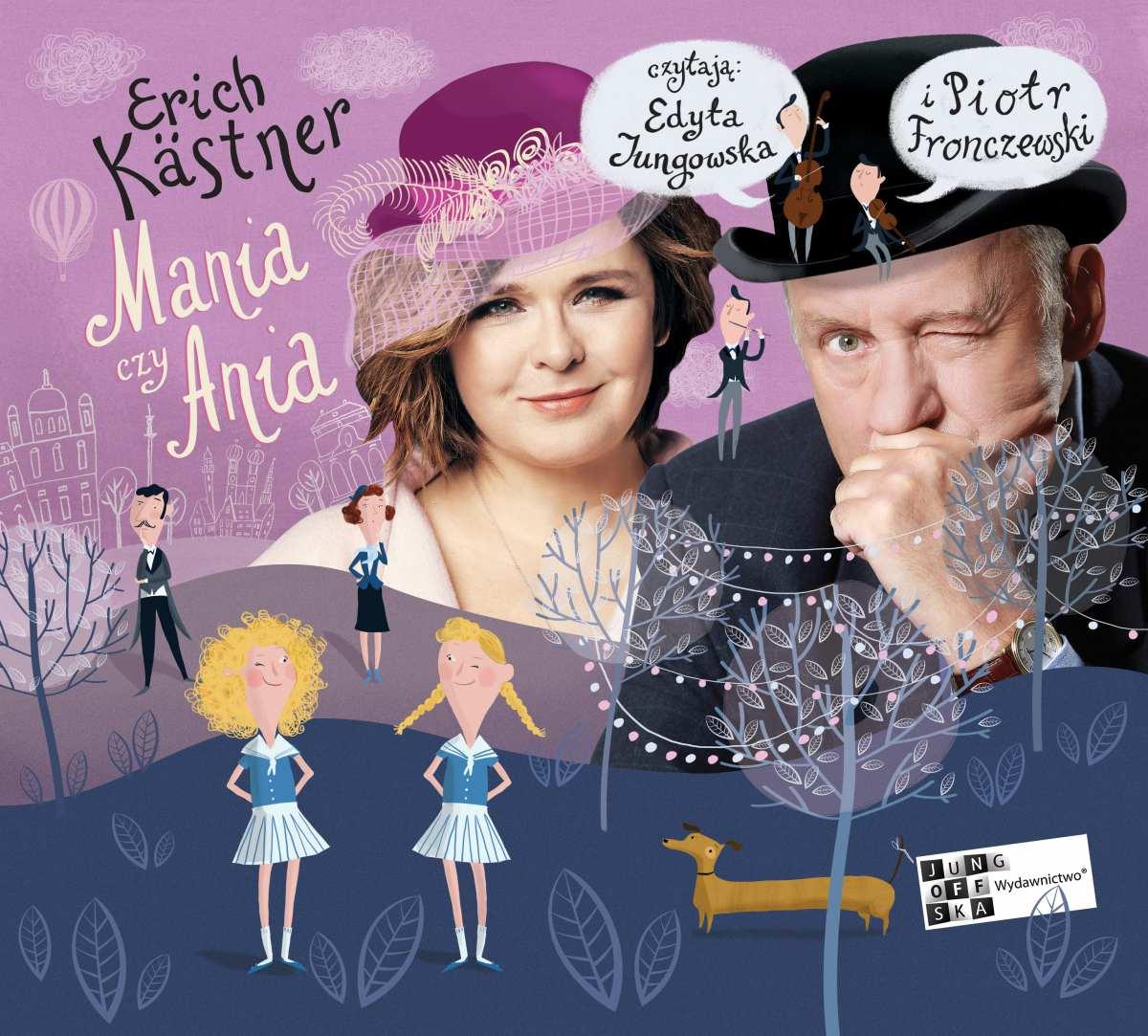 Mania czy Ania - Audiobook (Książka audio MP3) do pobrania w całości w archiwum ZIP