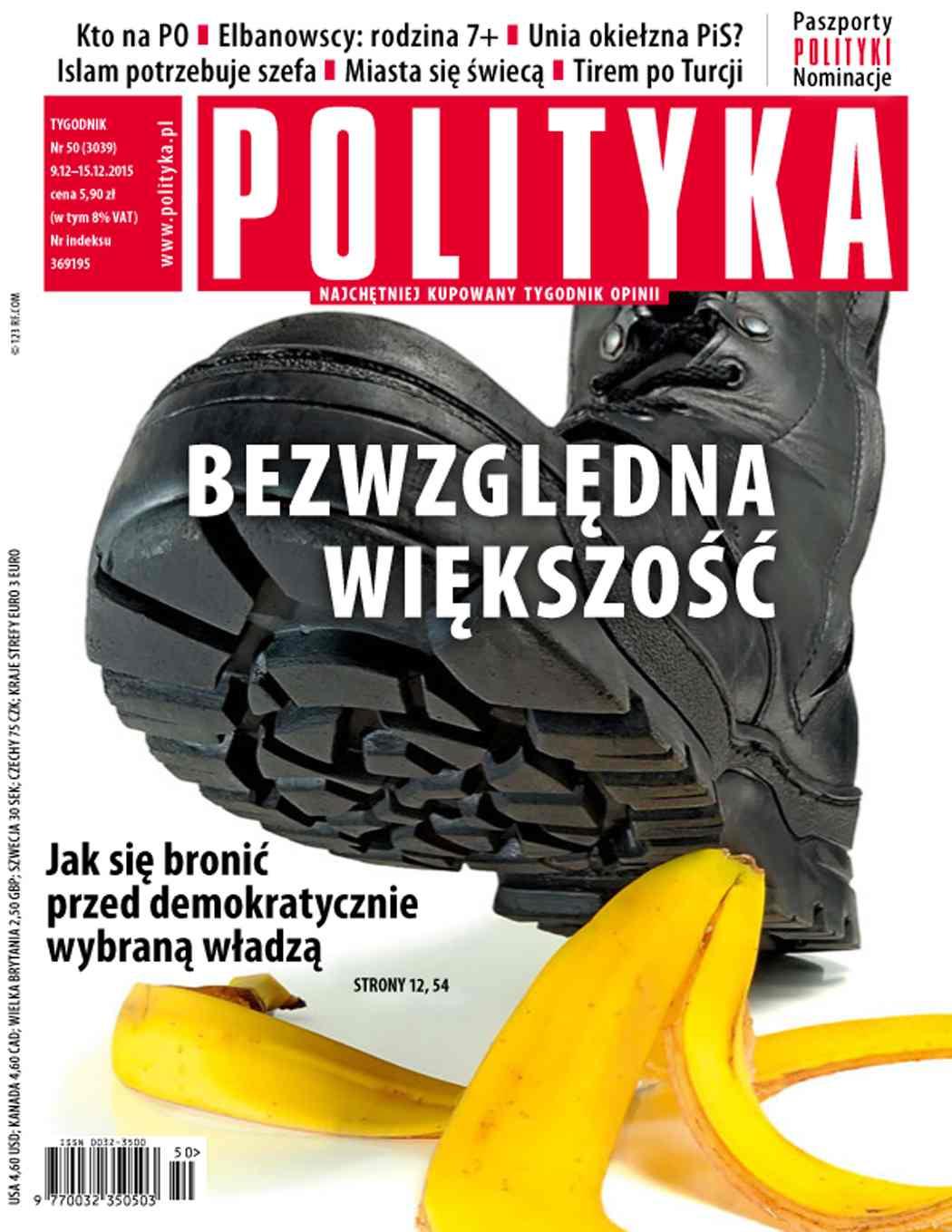 Polityka nr 50/2015 - Ebook (Książka PDF) do pobrania w formacie PDF