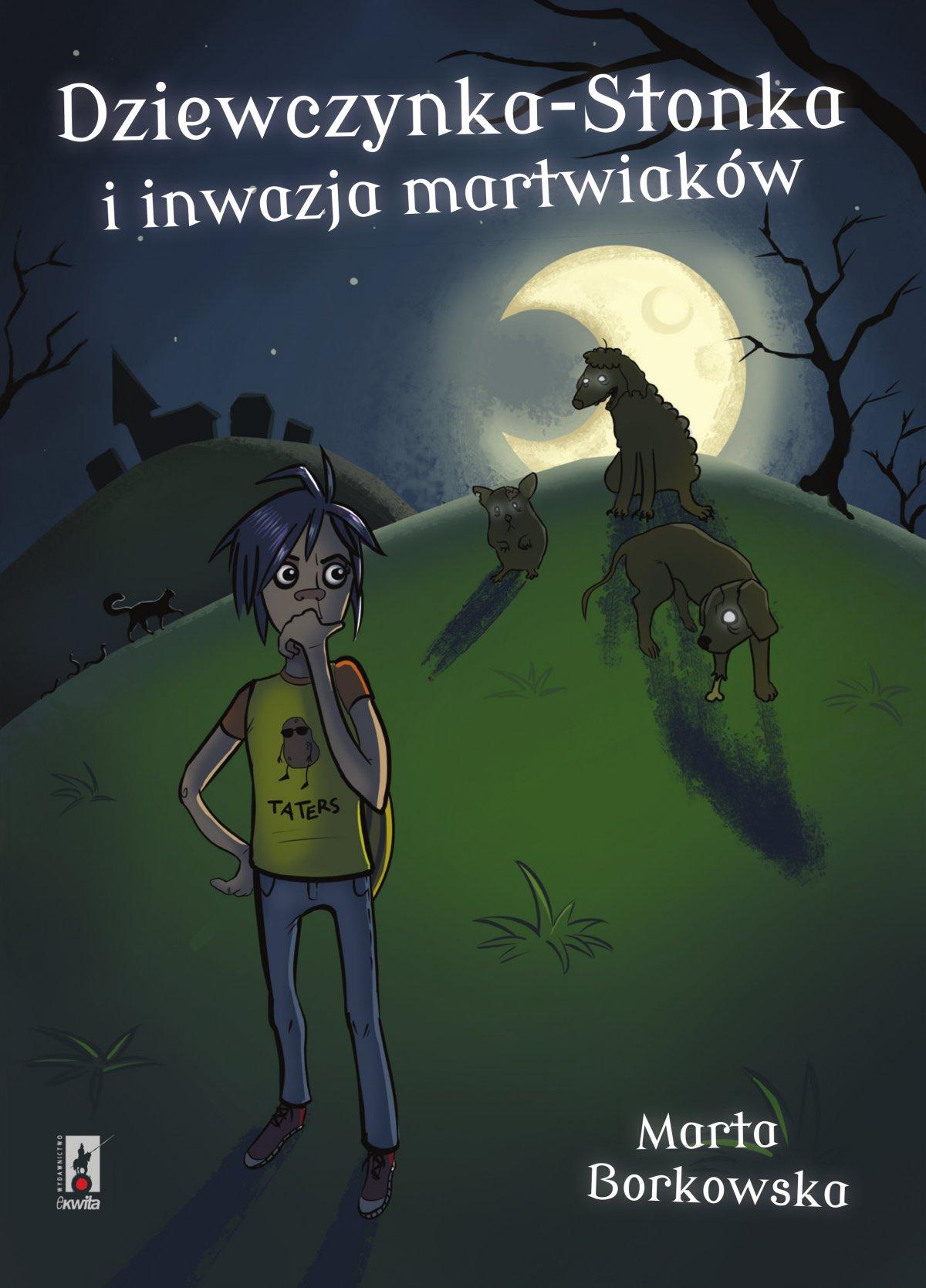 Dziewczynka-Stonka i inwazja martwiaków - Ebook (Książka na Kindle) do pobrania w formacie MOBI