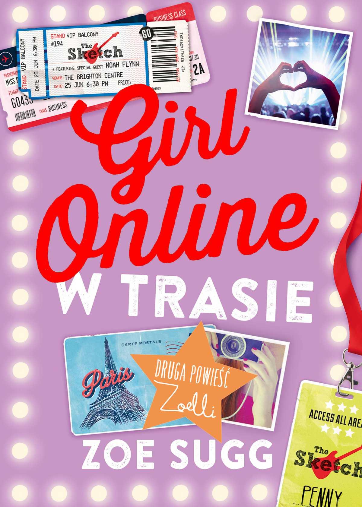 Girl Online w trasie - Ebook (Książka na Kindle) do pobrania w formacie MOBI