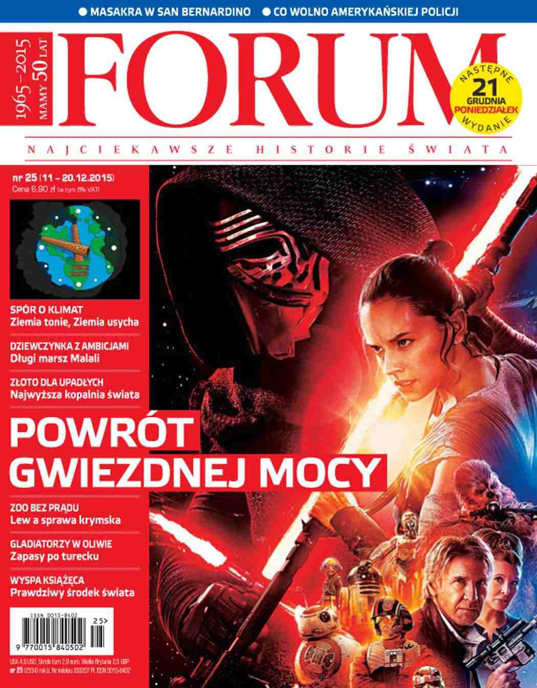 Forum nr 25/2015 - Ebook (Książka PDF) do pobrania w formacie PDF