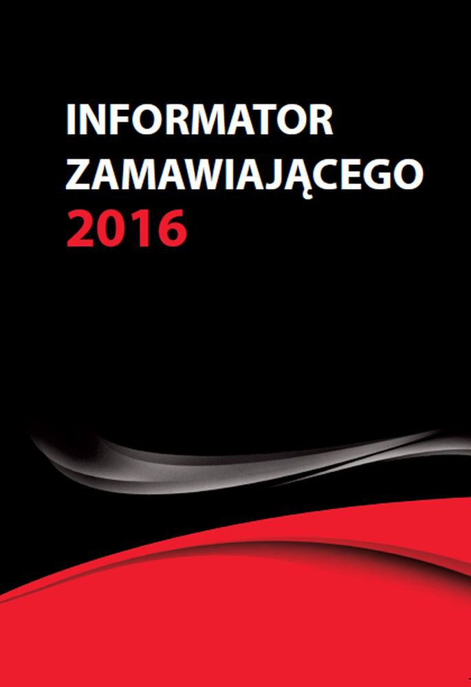 Informator zamawiającego 2016 - Ebook (Książka PDF) do pobrania w formacie PDF