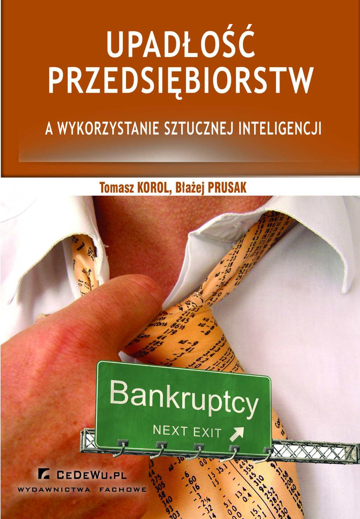 Upadłość przedsiębiorstw a wykorzystanie sztucznej inteligencji (wyd. II) - Ebook (Książka PDF) do pobrania w formacie PDF
