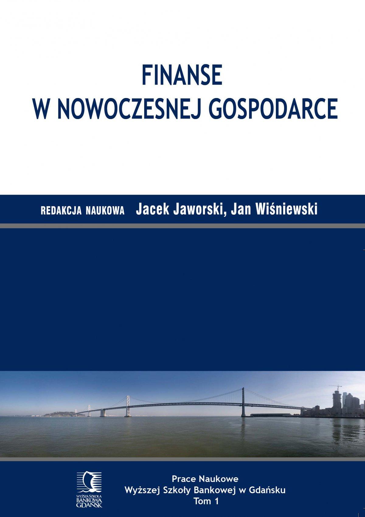 Finanse w nowoczesnej gospodarce - Ebook (Książka PDF) do pobrania w formacie PDF