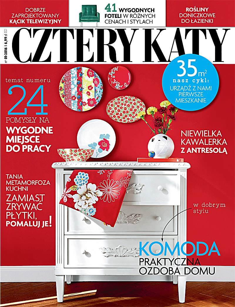 Cztery Kąty 1/2016 - Ebook (Książka PDF) do pobrania w formacie PDF