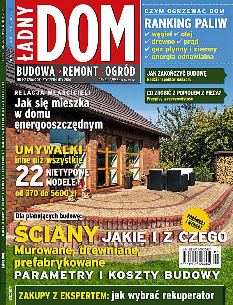 Ładny Dom 1_2/2016 - Ebook (Książka PDF) do pobrania w formacie PDF