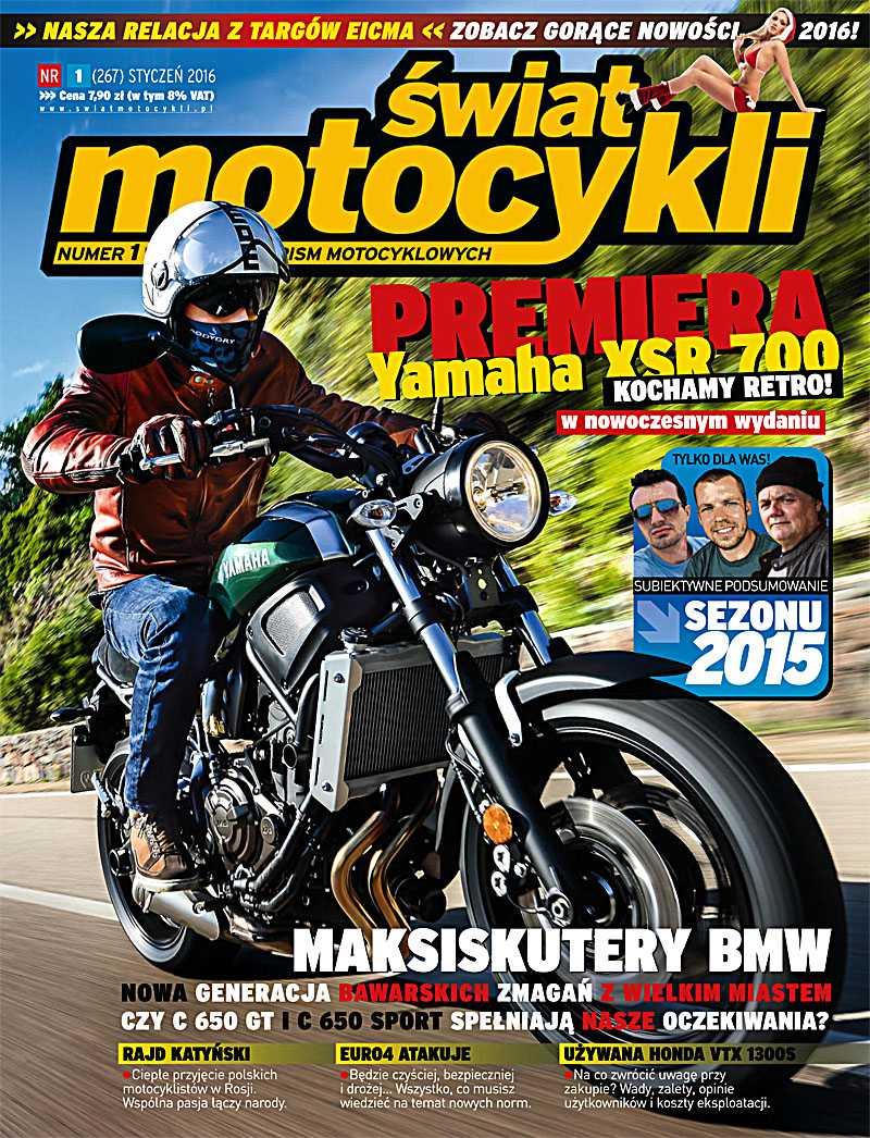 Świat Motocykli 1/2016 - Ebook (Książka PDF) do pobrania w formacie PDF