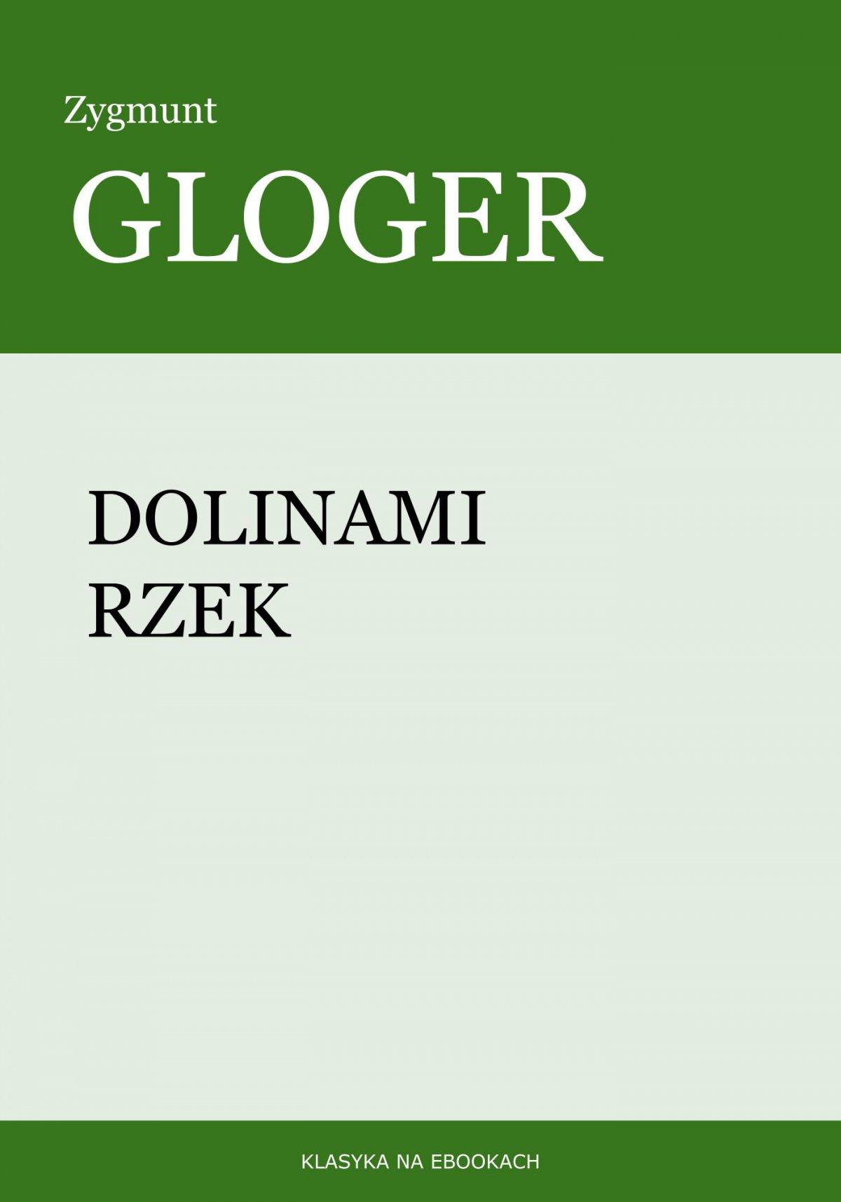 Dolinami rzek - Ebook (Książka na Kindle) do pobrania w formacie MOBI