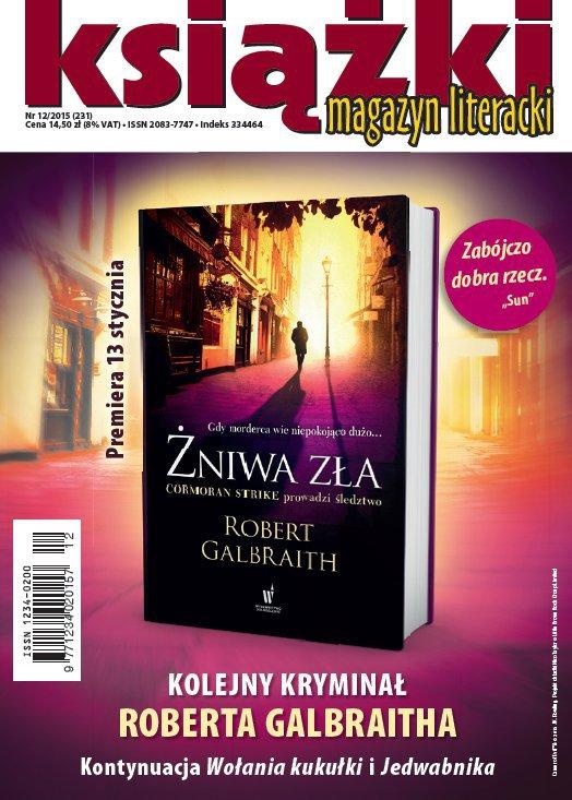 Magazyn Literacki KSIĄŻKI 12/2015 - Ebook (Książka PDF) do pobrania w formacie PDF
