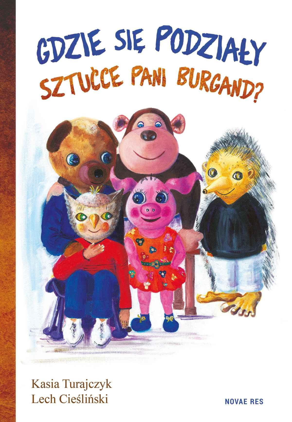 Gdzie się podziały sztućce pani Burgand? - Ebook (Książka EPUB) do pobrania w formacie EPUB