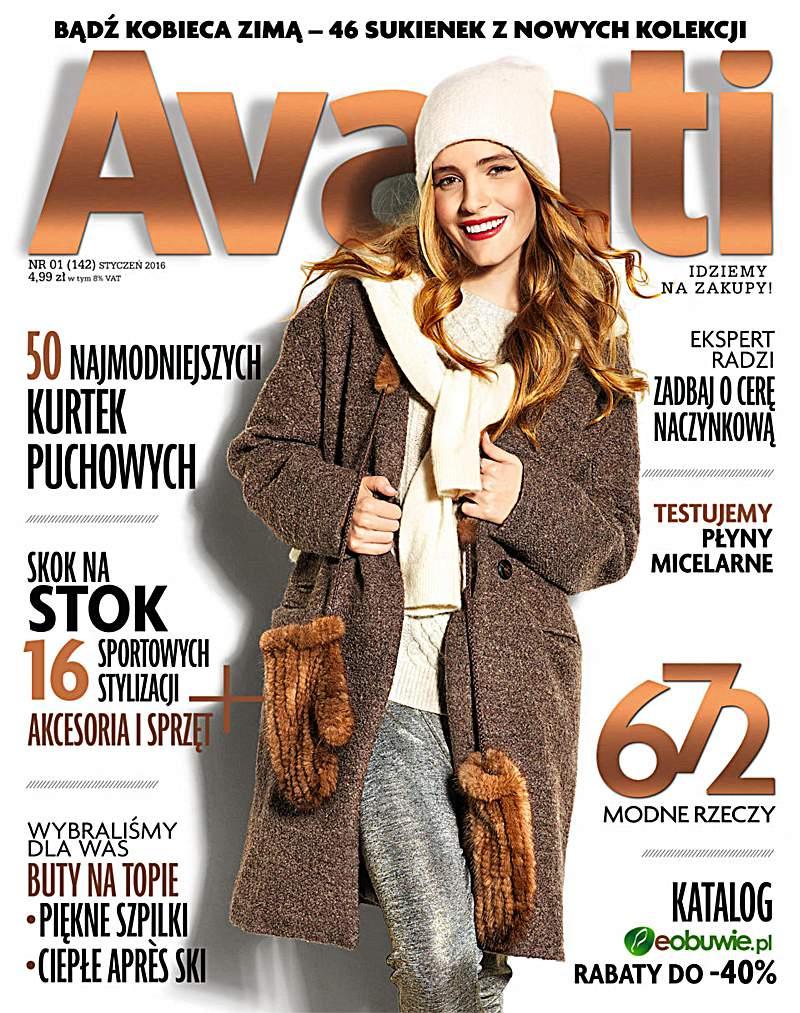 Avanti 1/2016 - Ebook (Książka PDF) do pobrania w formacie PDF