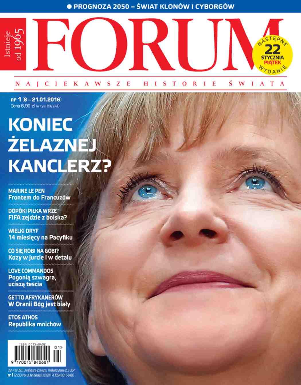 Forum nr 1/2016 - Ebook (Książka PDF) do pobrania w formacie PDF
