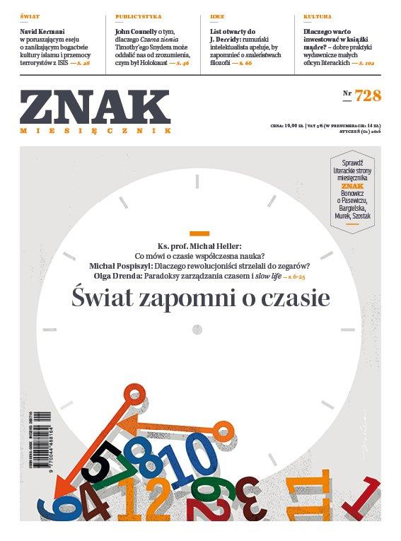Miesięcznik Znak. Świat zapomni o czasie. Nr 728 - Ebook (Książka EPUB) do pobrania w formacie EPUB