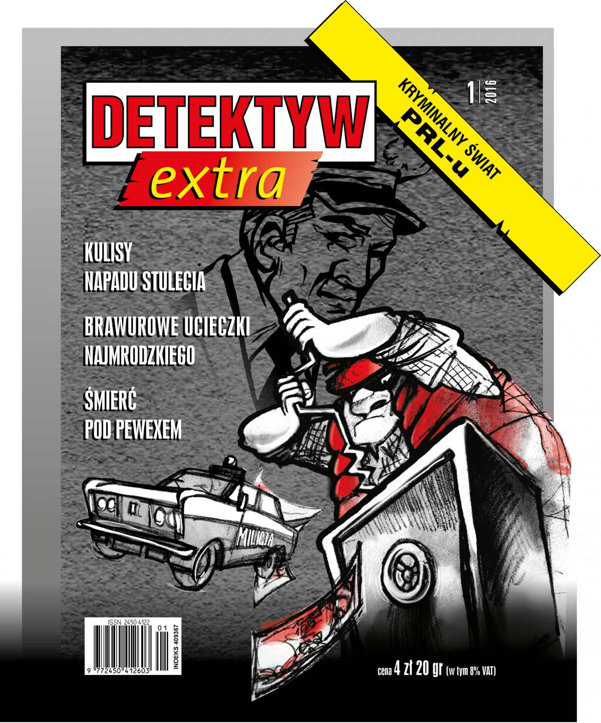 Detektyw Extra 1/2016 - Ebook (Książka na Kindle) do pobrania w formacie MOBI