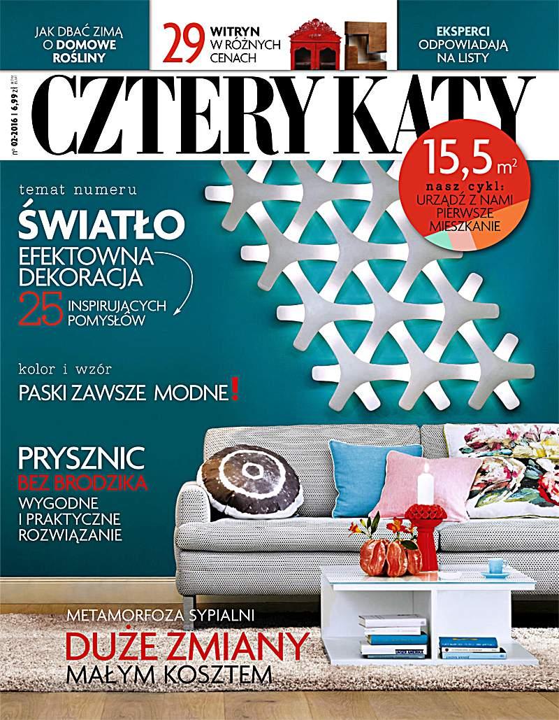 Cztery Kąty 2/2016 - Ebook (Książka PDF) do pobrania w formacie PDF