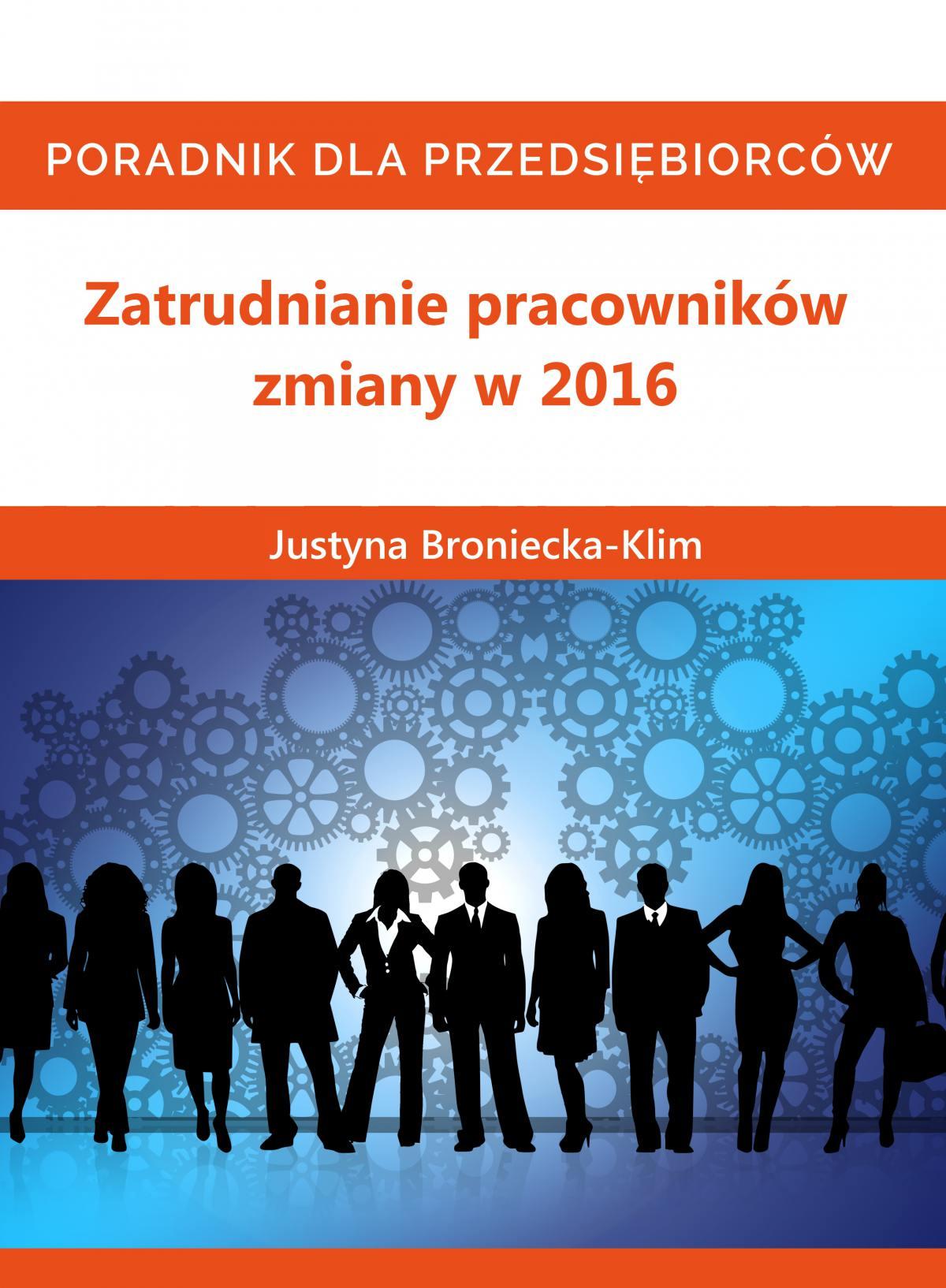 Zmiany 2016 w zatrudnianiu pracowników - Audiobook (Książka audio MP3) do pobrania w całości w archiwum ZIP