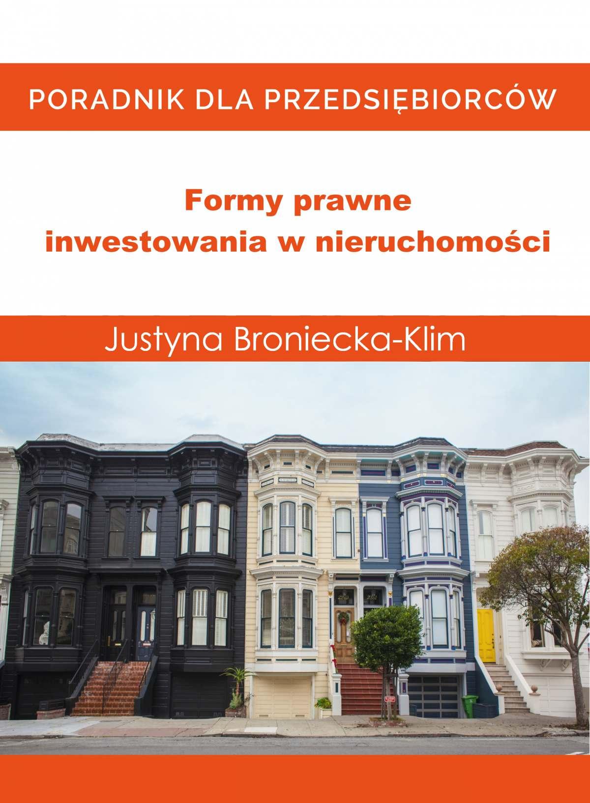 Formy prawne inwestowania w nieruchomości - Audiobook (Książka audio MP3) do pobrania w całości w archiwum ZIP