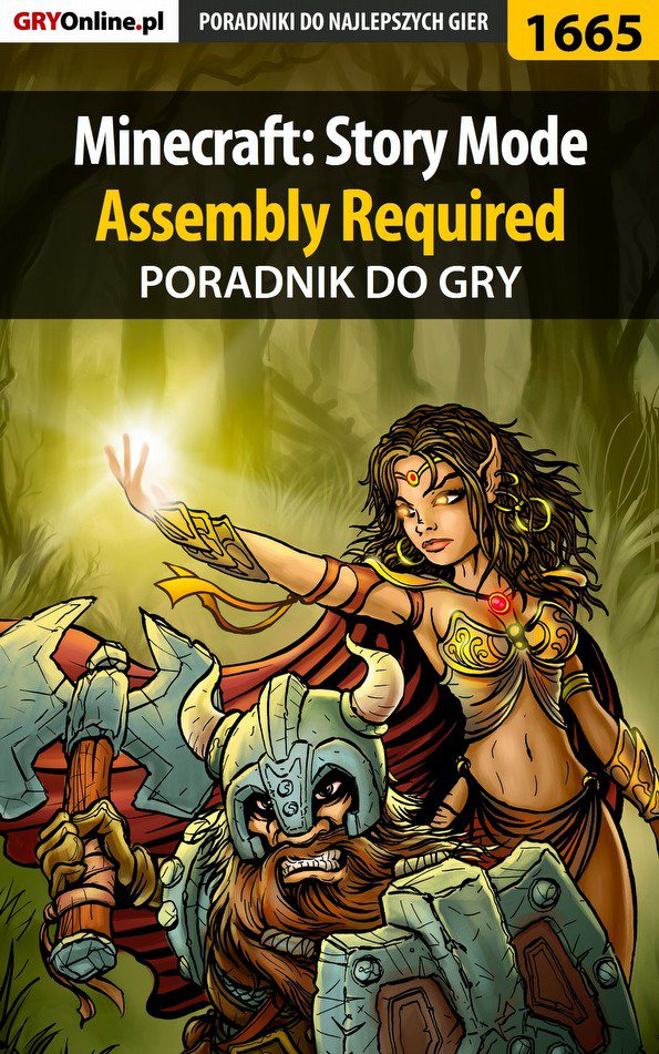 Minecraft: Story Mode - Assembly Required - poradnik do gry - Ebook (Książka PDF) do pobrania w formacie PDF