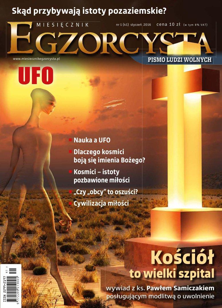 Miesięcznik Egzorcysta. Styczeń 2016 - Ebook (Książka PDF) do pobrania w formacie PDF