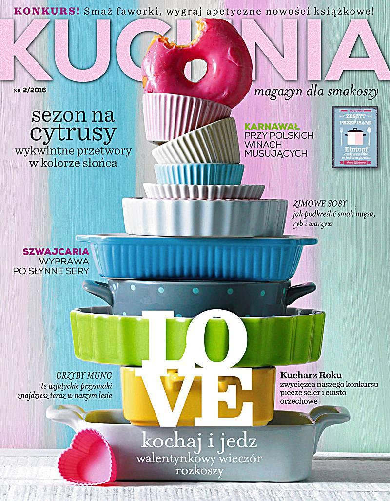 Kuchnia 2/2016 - Ebook (Książka PDF) do pobrania w formacie PDF
