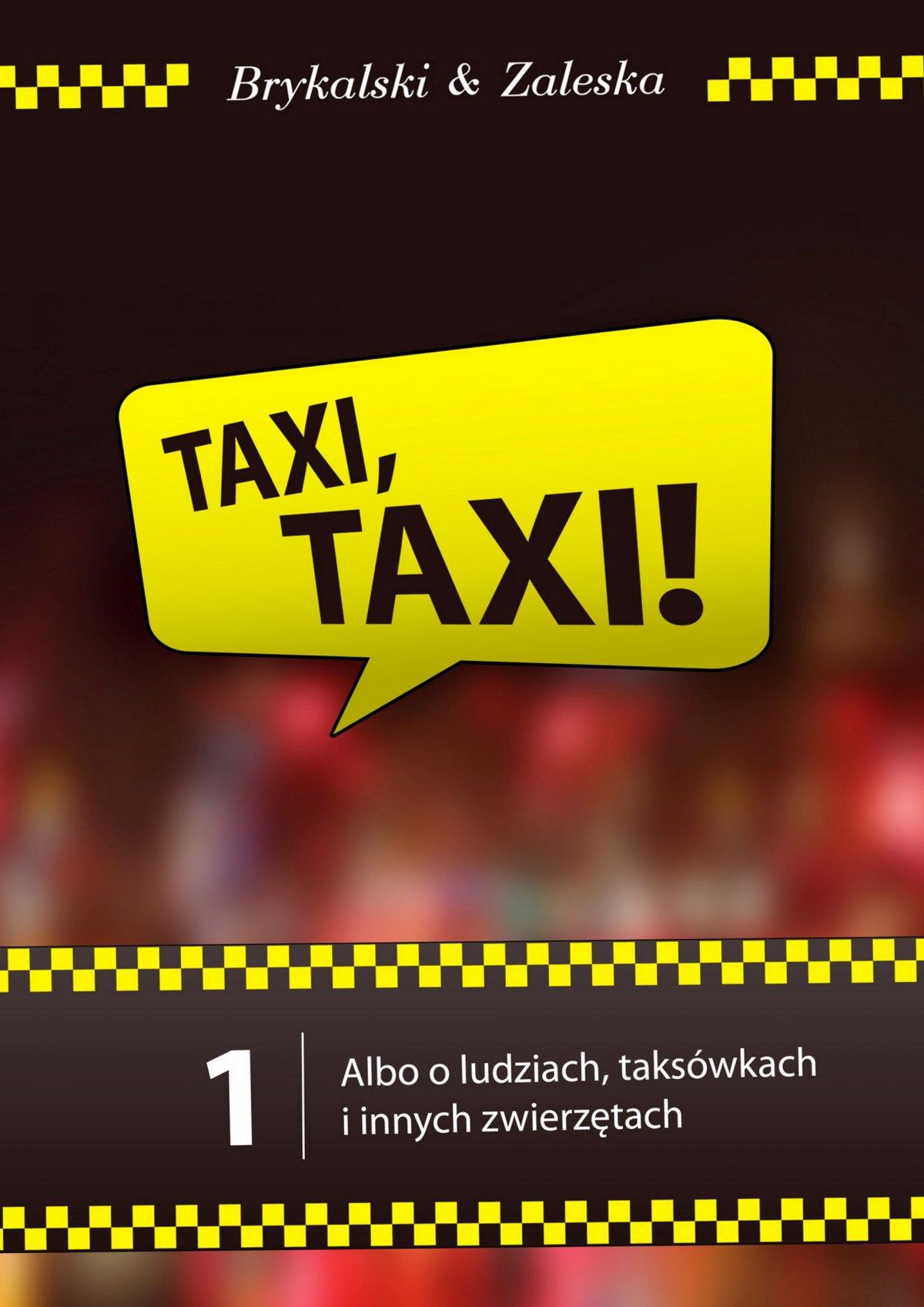taxi, taxi! - Ebook (Książka PDF) do pobrania w formacie PDF