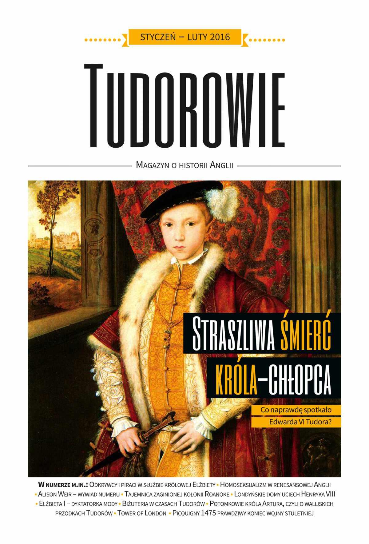Tudorowie 1/2016 - Ebook (Książka EPUB) do pobrania w formacie EPUB