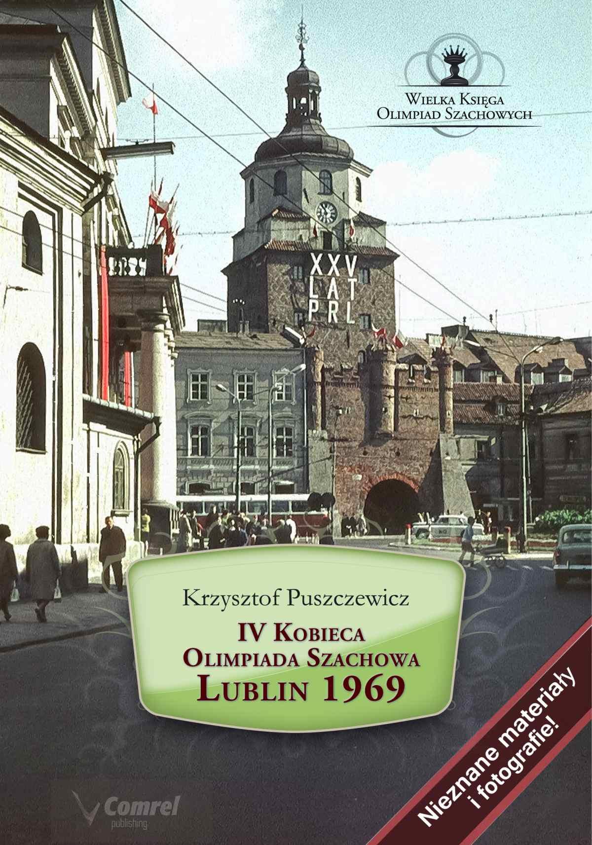 IV Kobieca Olimpiada Szachowa - Lublin 1969 - Ebook (Książka PDF) do pobrania w formacie PDF